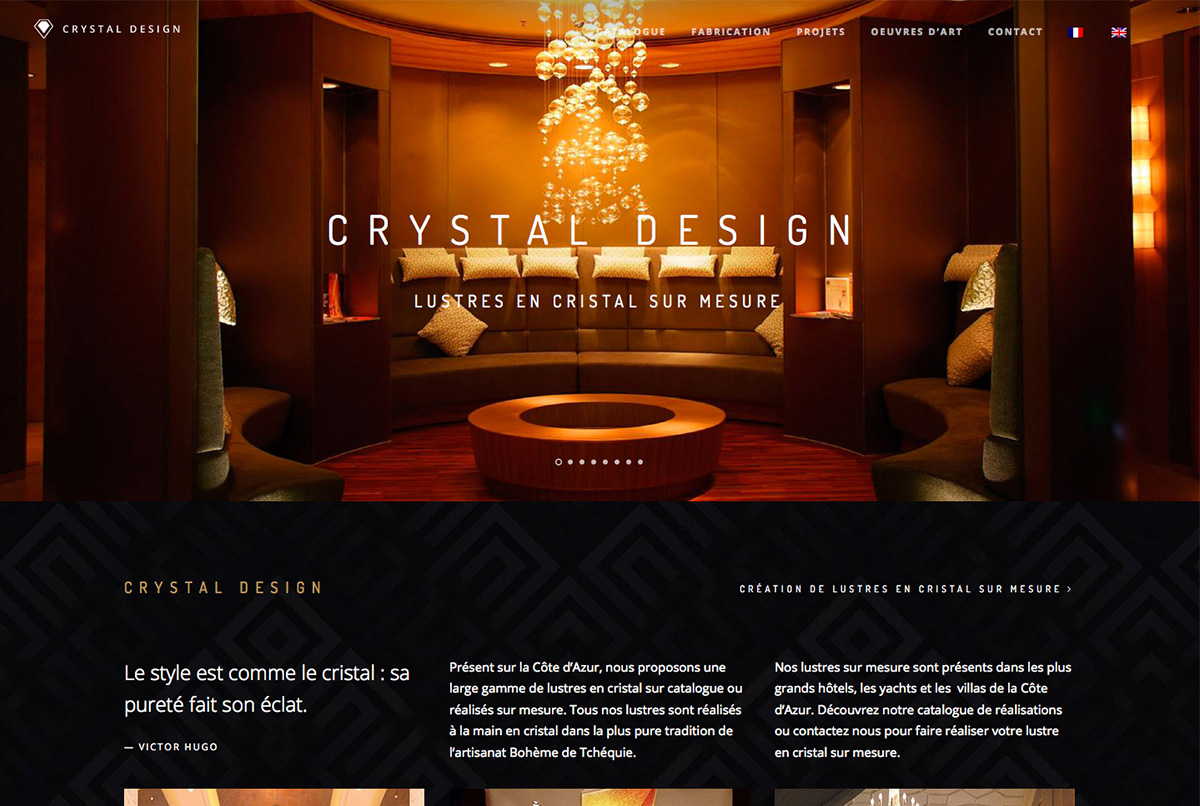 agence web antibes luxe