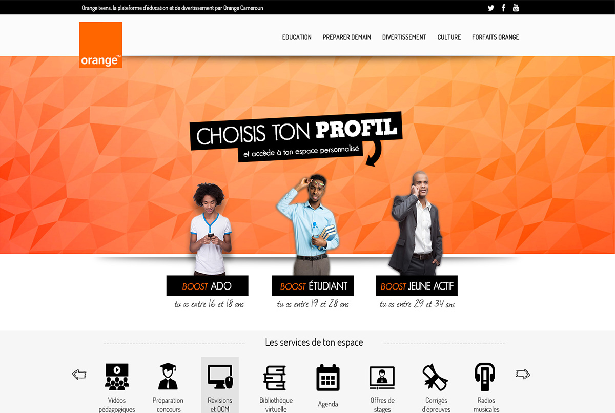 agence web antibes portail orange