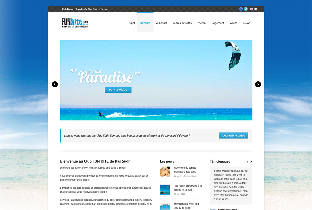 agence web antibes creation wordpress